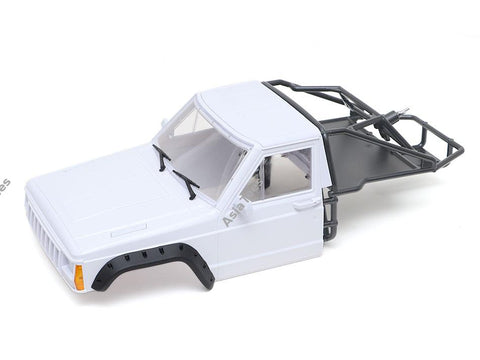 Team Raffee Co. 1/10 Comanche Front Cab & Rear Cage Hard Body 313mm-324mm