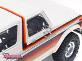 "Team Raffee Co. 1/10 Bronco XLT Gen 2 Hard Body 313MM (12.3"") w/ Roof Rack"
