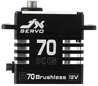 JX B70 Servo 70KG (972oz) 12V brushless Metal Gear High Torque Digital Servo