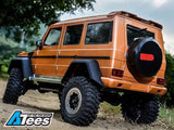 Team Raffee Co. Benz G-Class 4-Door Hard Body 313mm w/ Front & Rear Roof Spoilers