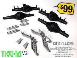 TKO-10 V2 Axle Kit - (front and rear)