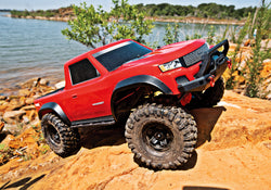 Traxxas TRX-4 Sport 1/10 Scale RC Trail Crawler - Red