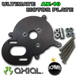 "SCX10/AX10 ""ULTIMATE"" Motor Plate - Black"
