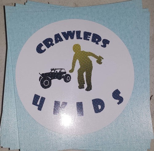 "6"" C4K vinyl cut stickers"