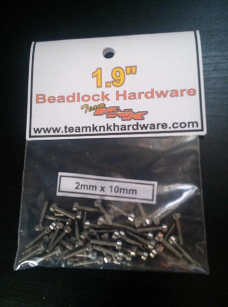 "1.9"" Beadlock Stainless Hardware Kit"