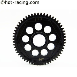 HOT RACING Hardened Steel Spur 56t