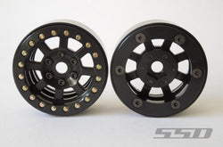 "SSD 1.9"" Assassin Beadlock Wheels ( black)"