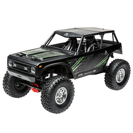 Wraith 1.9 1/10th Scale Electric 4wd RTR Black  - pre order