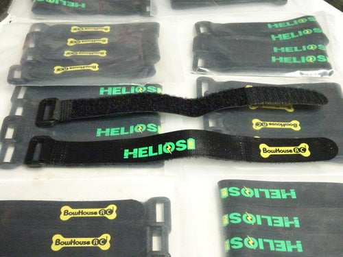 Helios RC - 200mm Non-Slip Battery Straps (set of 2)