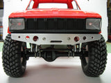 Lightweight Aluminum Comp Bumpers for TF2, Axial, or  Vaterra - Front w/ fairlead