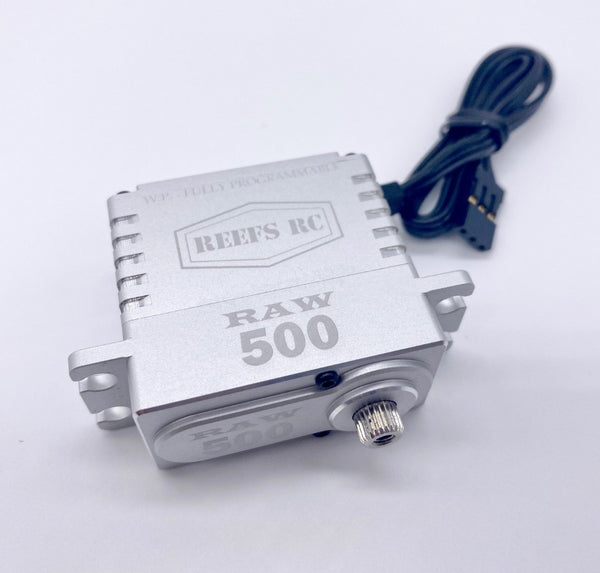 REEFs Raw 500 High Torque High Speed HV Waterproof Brushless Servo .095/500 @7.4V