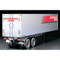 Tamiya 1/14 scale box trailer