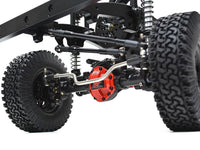 Boom Racing 1/10 ARTR Assembled D110 Chassis w/ TRC Raffee Defender D110 Pickup Truck Hard Body