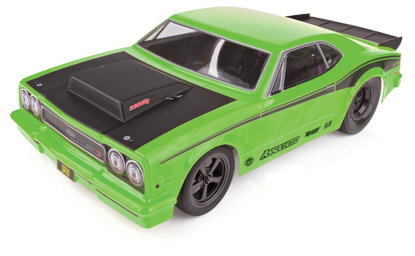 1/10 DR10 Drag Race Car, Brushless 2WD RTR, Green