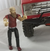 Lightweight Male Driver Figure