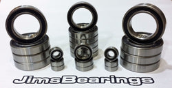 JimsBearings - SCX10ii Stainless rubber seal bearing kit
