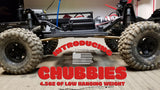 "TRX-4 12.3"" (313mm) wheelbase - high clearance brass kit"