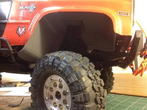 Ascender Inner Fenders For K5 Blazer Body - Rear Only