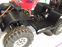 Ascender Inner Fenders For Bronco Body - Rear Only