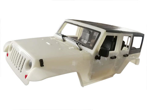 Team Raffee Co. 5 Door Jeep Rubicon Hard Body for 1/10 Crawler 313mm Kit Version