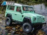 Boom Racing 1/10 D90 Chassis Kit (Without Wheels Tires Shocks) w/ TRC Raffee Defender D90 2-Door Hard Body
