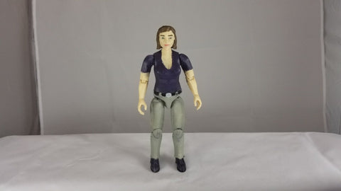 Female Driver Figure - 3d Printed