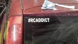 #RCADDICT decal - Full size