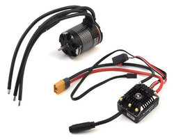 Hobbywing AXE 540 FOC Waterproof V1.1 Sensored Brushless Combo w/1800kV Motor