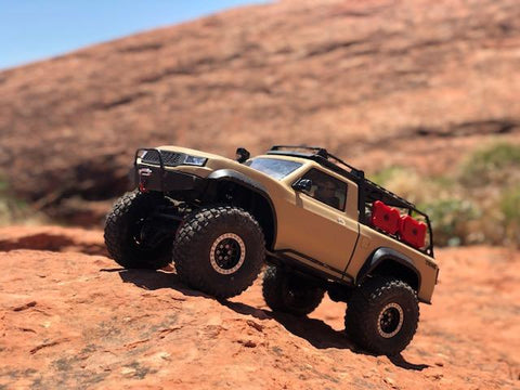 Double Bar Rock Sliders for TRX-4 and Redcat Gen8