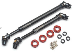 Boom Racing Voodoo™ Steel Center Drive Shafts Front 90-100mm / Rear 125-145mm (2) for Boom Racing BRX01