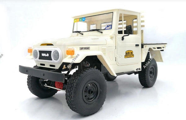 WPL 1/16 Metal Edition 4WD 2-Speed RC Crawler Kit White for C44KM
