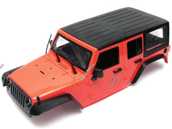 Team Raffee Co. 5 Door Rubicon Hard Body for 1/10 Crawler 313mm Red