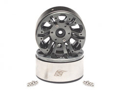 Boom Racing EVO™ 1.9 High Mass Beadlock Aluminum Wheels Twin-6B (2)