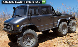 SCX10 II UMG10 1/10 Scale Elec 6x6-RTR *preorder*