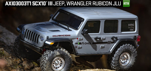 Axial SCX10iii Jeep Wrangler Rubicon JLU Ready to Run