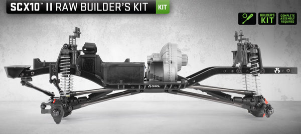 SCX10 II™ Raw Builders Kit