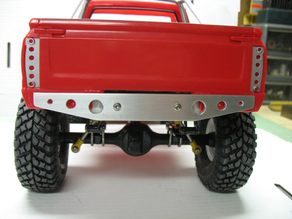 Lightweight Aluminum Comp Bumpers for TF2, Axial, or  Vaterra - Rear