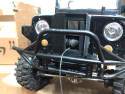 Servo winch mount cover