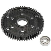 Black Steel, 56T Stock Replacement 32P Gear, for Axial SCX10, and SMT10