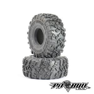 "Rock Beast XOR 1.55"" Crawler Tires, Alien Kompound, with Foams, (2)"