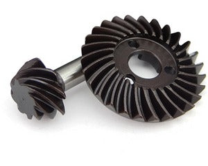 SCXT9278 HD Steel Bevel Gear Set - 27t/8t 0.9 Over Drive Module