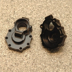 CNC Machined Brass Inner rear Portal Drive Mount (1 pair) for Traxxas TRX-4 (BK)