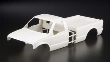 Tamiya White Body Ford F350 Hi-Lift Kit