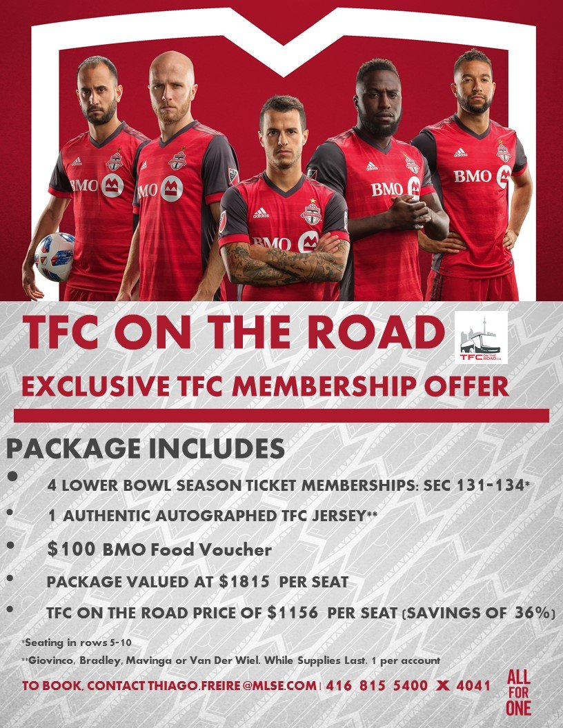 ROAD TRIPS - TFC ON THE ROAD