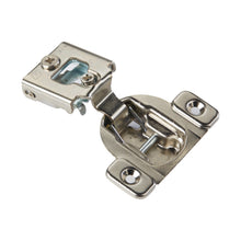 "10 Pack 105 Degree Compact 38N Series 1/2"" Overlay Edge Mount Screw-On Self Closing Cabinet Hinge"