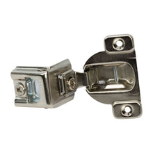 "10 Pack 110 Degree Compact 39C Series 1-1/2"" Overlay Screw-On Self-Closing Cabinet Hinge"