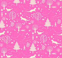 Otter Romp Forest Pink - Stitch Morgantown