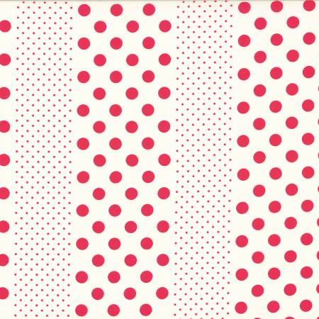Lecien Orchard Kitchen Pink Polka Dots