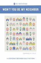 Tiny Town Quilt Pattern Won't You Be My Neighbor