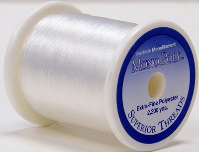 Superior Clear MonoPoly Thread 2200yd - Stitch Morgantown